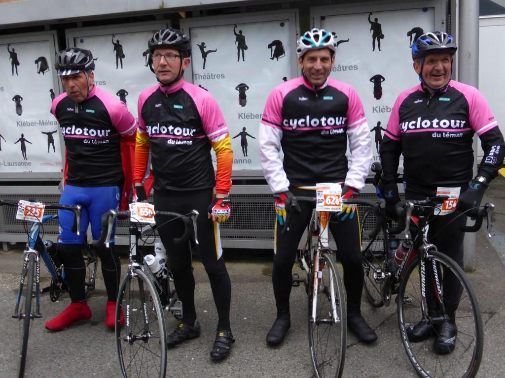 Cyclo Tour du Léman à Lausanne mai 2013