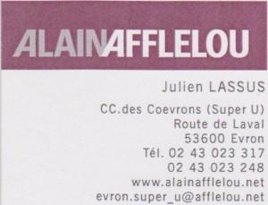 ALAIN AFFLELOU, CC. des Coëvron, 53 600 EVRON, 02 43 023 317