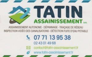 TATIN Assainissement SARL, 07 71 13 95 38