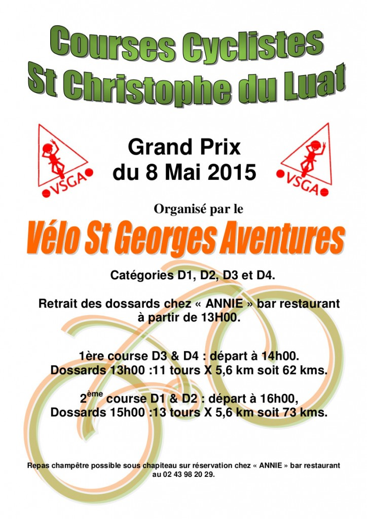 Course St Christophe