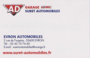 GARAGE SURET AUTOMOBILES